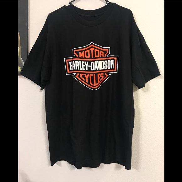 harley davidson shirts vintage 90s harley davidson t. Black Bedroom Furniture Sets. Home Design Ideas